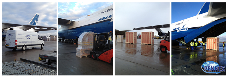 Antonov 124 Export Packing and Load Out