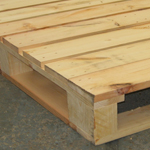 ISPM-15 softwood pallet 4 way entry