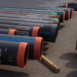 Large storage capability for heavy duty stock pipe